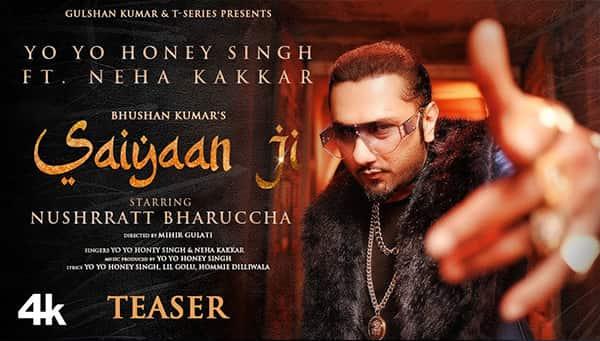 Saiyaan Ji Lyrics Yo Yo Honey Singh