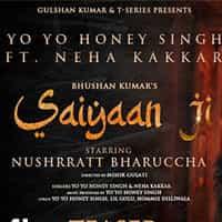 Saiyaan Ji Song lyrics in Hindi