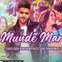 Munde Mar Gaye Lyrics in Hindi