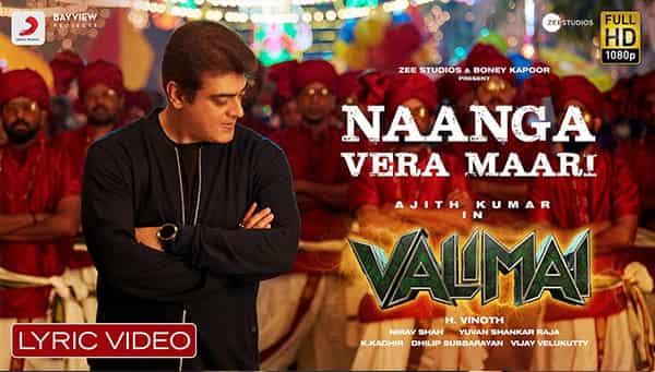 Naanga Vera Maari Valimai Lyrics